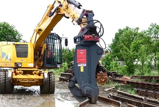 RP2000 RAIL SHEAR | RAIL SHEARS | Railroad Equipment | Colmar Equipment